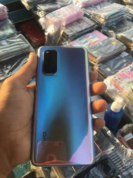 Vivo v19 full kit charging , cover , hendsfree , bil box