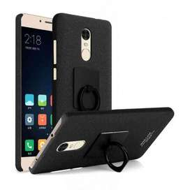 AyooDropship - Imak Contracted iRing Hard Case for Xiaomi Redmi Note 4