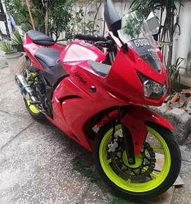 Dijual ninja 250 warna merah