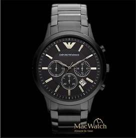 EMPORIO ARMANI STAINLESS STEEL WATCH CASH ON DELIVERY PRICE NEGOTIABLE