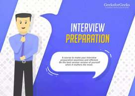 I am a teacher for Online Interview Crash Course