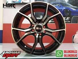 Velg mobil Racing Tipe HSR VOODOO Ring15X65 (Yaris Calya Sigra Dll)