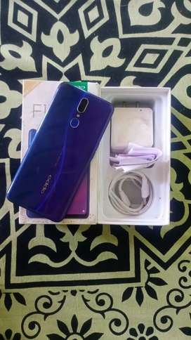 OPPO F11 4/128 With Bill Box Charger
