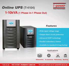 5kva 48v UPS Pure sinewave Short Longer backup times Built-in AVR Snmp