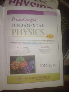 Pradeep fundamental class 11th vol. 2 only available