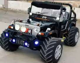 Mahindera modified classic jeep