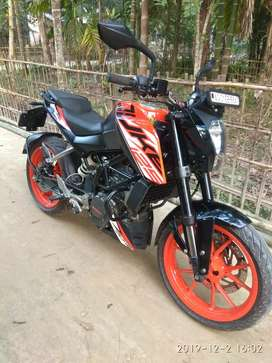 KTM.125 abs . good condition