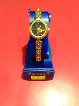 Sonata watch brand new not use.