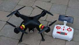 Drone with best hd Camera with remote all assesoriess..230.ghj