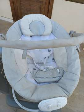 Baby carry cot swing with music