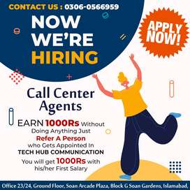 Female Call Center Agents Required Evening Shift Only (5PM to 11 59PM)