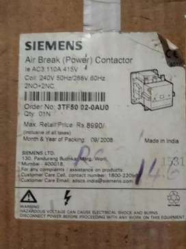 SIEMENS (airBreakr power contactor) 100Ams