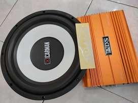 Lengkap Power 4Chn Subwoofer 12inch- Paket Audio Ekonomis ADS