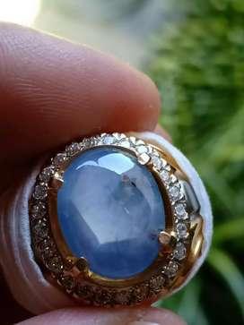 Blue sapphire Ceylon Srilanka Windusegara