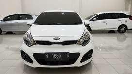 All New Kia Rio 1.4 Hatcback 2013 Siap Pakai,KM Low dan Service Record