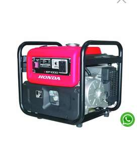 Honda generator..Ebk 1k watt only 30k, 2k watt 40k and 2800watt 50k..