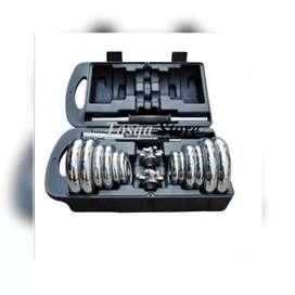 Dumbell Set Chrome Barbel 20 Kg // Gerhard CH 15B00