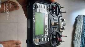Flysky Fs-i6x Radio Transmitter 10 channel for drone