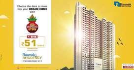 1 Bhk flat available for sale in Vartak Nagar Thane