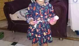 2 year girl very beautiful dress