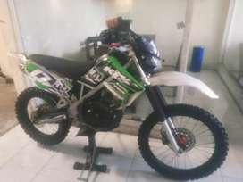 Bali dharma motor,, jual Kawasaki KLX THN 2013