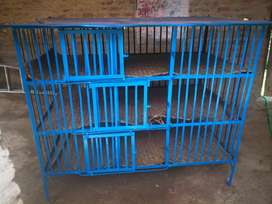 Poultry cage.