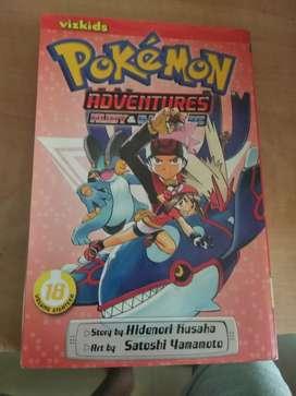 Pokémon ruby and sapphire comics