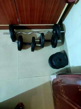 Gym dumbbells brand new