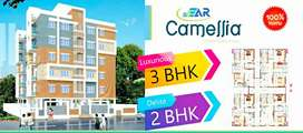 3 BHk and 2 BHK east and west facing flats for sale at kaveri nagar