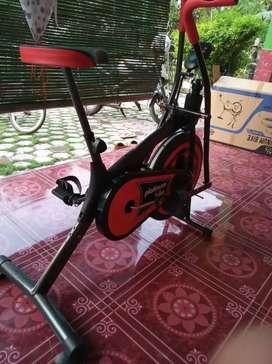 Sepeda statis platinum bike dua fungsi untuk terapy dan kebugaran