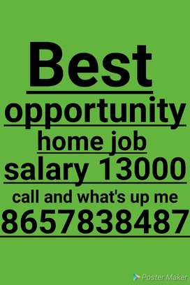 Work from home best opportunity just follow me