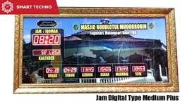 Best Design Jam Masjid Type Medium Plus Kirim Tangerang Banten