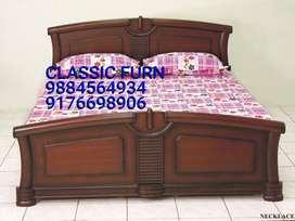 brand new luxury wooden cot