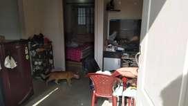 1 bhk semi furnished house near pizza hutt murugeshpalya for more deta