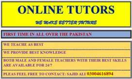 Female Home tutore Available for KG to 5 Grad