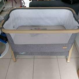 Box bayi cozee tutti bambini bedside crib