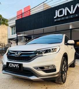 Honda CRV Prestige 2015 Putih Full Original Paint