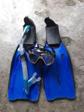 Set snorkling technice