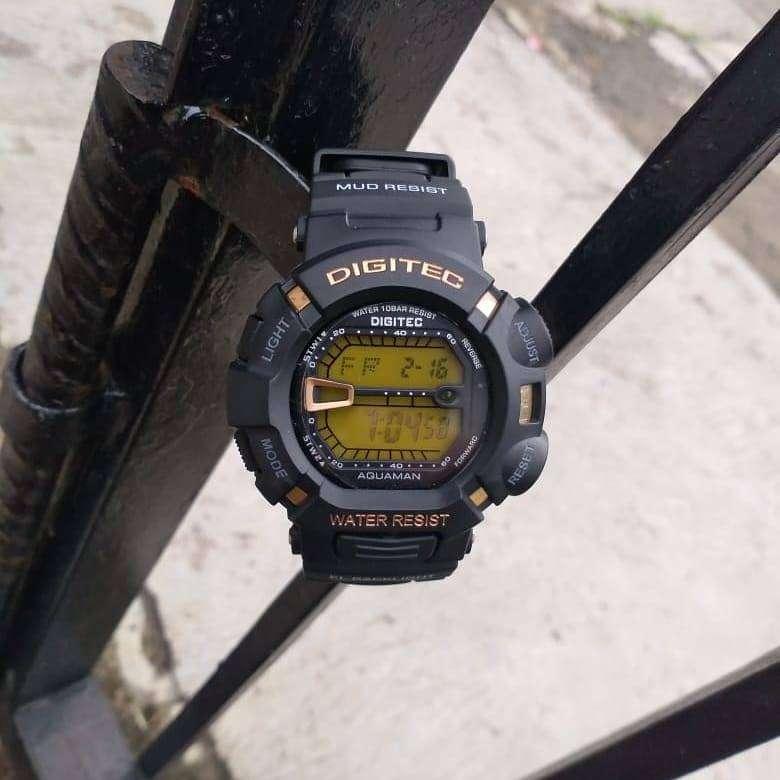 Jam Tangan Bergaransi Digitec Digital DG0866LB Cowok Brand Ternama Per 0
