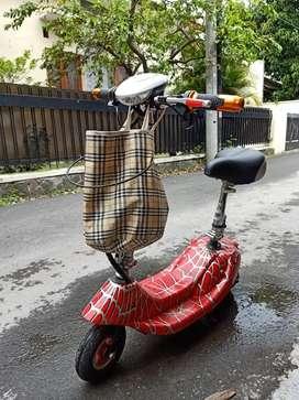 Sepeda listrik mini