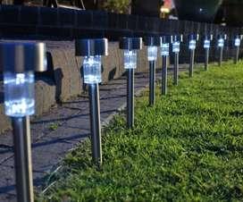 Lampu Taman Matahari LED Garden Lamp Taman LV Tenaga Surya Solar Cell