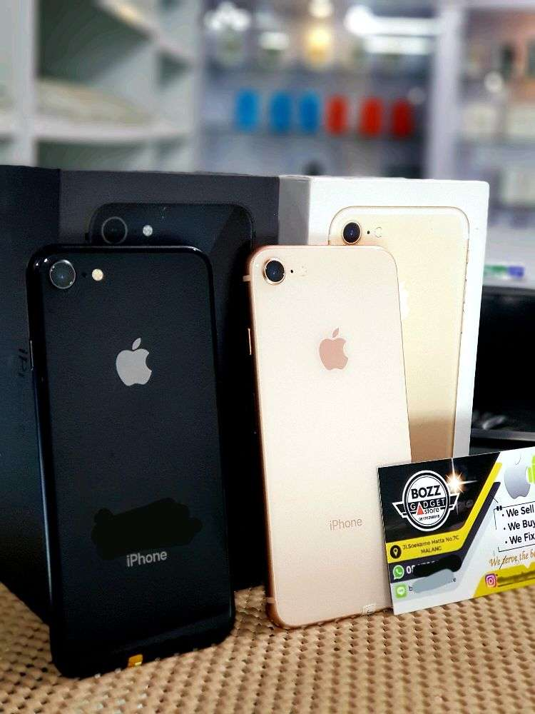 IPhone 8 64gb Fullset Original Ex Internasional Bukan Rekondisi 0