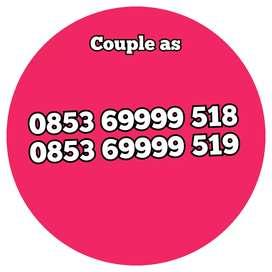 Nomor cantik kartu as couple