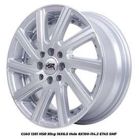 velg HSR racing manado bisa kredit ring 16 buat Honda Jazz,Honda Mobil
