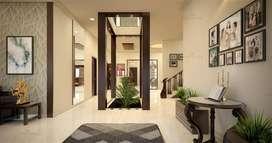 Elegant GATED COMMUNITY 4BHK Villa/Prime Location/Alluring look/Modern