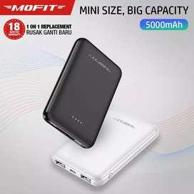 Powerbank MOFIT M5 5000mah Real Capacity Fast Charge