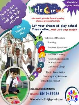Play school franhise