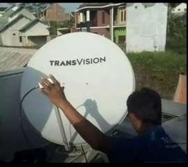 Parabola Transvision HD resmi kota Banjarbaru Setahun hemat Diskon 60%