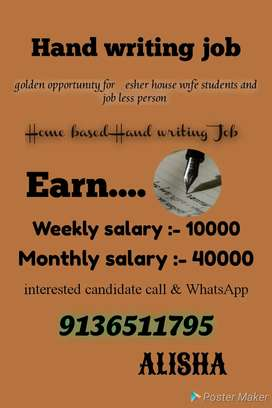 Good opportunity part time job