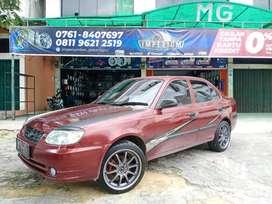Hyundai EXCEL ganti Velg Hiroshima Ring17 & Ban 651sport 205/45